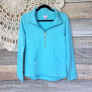 Lilly Pulitzer | Skipper French Terry Zip Pullover